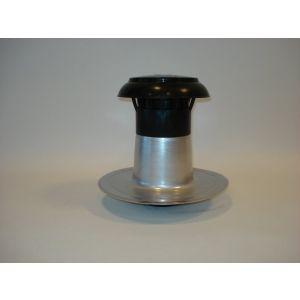 Dakdoorvoer dubbelwandig 110 / 125mm compleet