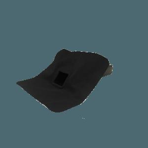 EPDM-regenwaterafvoer 60 mm x 100 mm x 45° uitloop